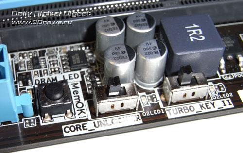 ASUS M4A88TD-V EVO/USB3 switches