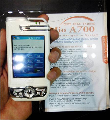 Mitac Mio A700