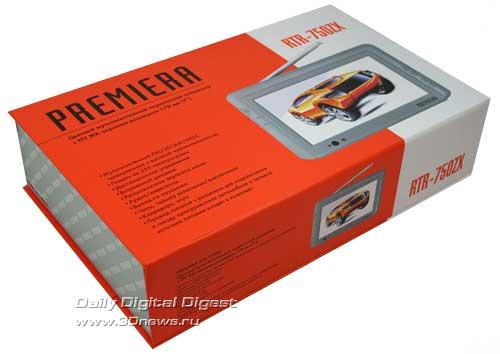 Портативный телевизор Premiera RTR-750ZX / Цифровой автомобиль.
