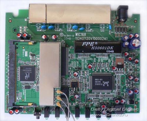 Маршрутизатор Level One WBR-5400  что внутри