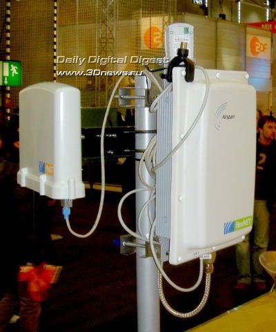 WiMAX/Wi-Fi