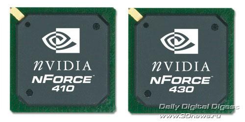 nForce 410 и 430
