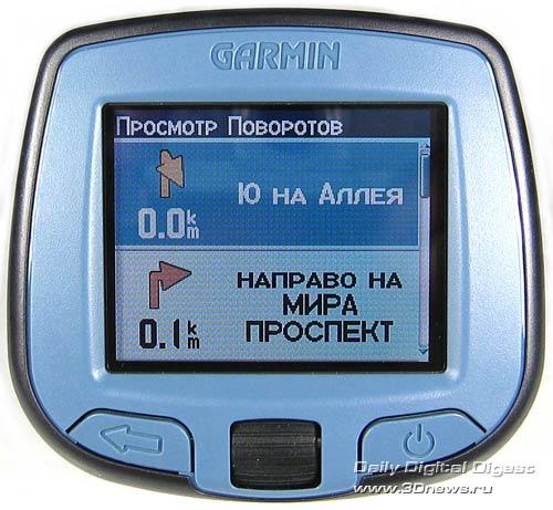 Дизайн и внешний вид GARMIN StreetPilot i3