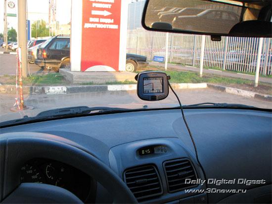 Практическое использование GARMIN StreetPilot i3