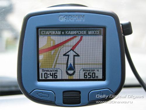 масштаб GARMIN StreetPilot i3