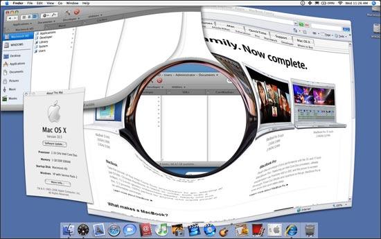 Grafické rozhrania operačných systémov - Windows, MAC OS X, Linux