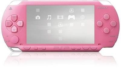 PSP покрасили в розовый цвет