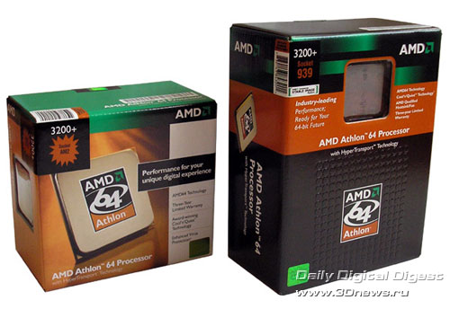 Athlon 64 in package