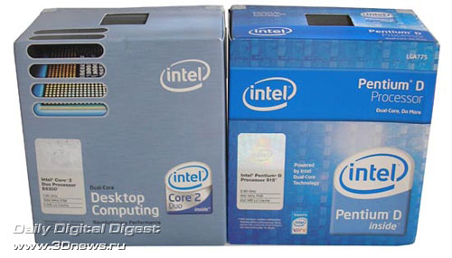 Intel Core 2 Duo E6300 and E6400