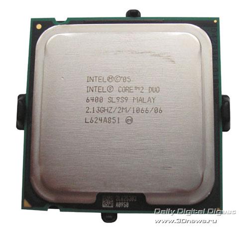 Intel Core 2 Duo E6300 и E6400