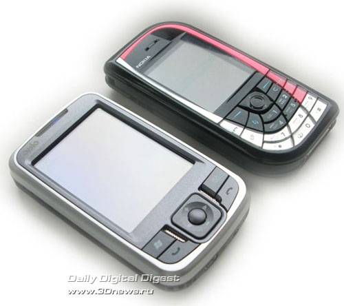 n725 рядом с Nokia 7610