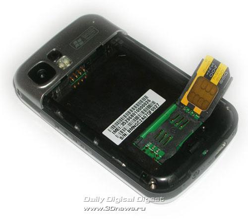 гнездо для SIM-карты