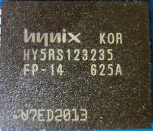 чип памяти в Gigabyte GF7600GT Silent