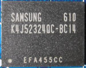 чип памяти на ASUS GF7600GT Silent
