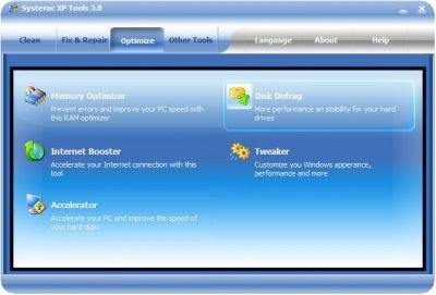 Systerac XP Tools 4.0 Rus Portable