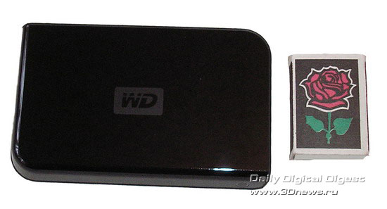 Western Digital Passport™ Portable 120 Gb USB 2.0 Drive