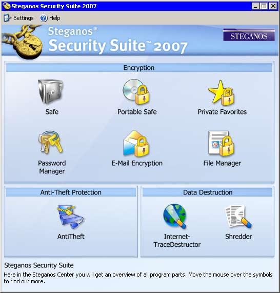 Steganos Security Suite 2007