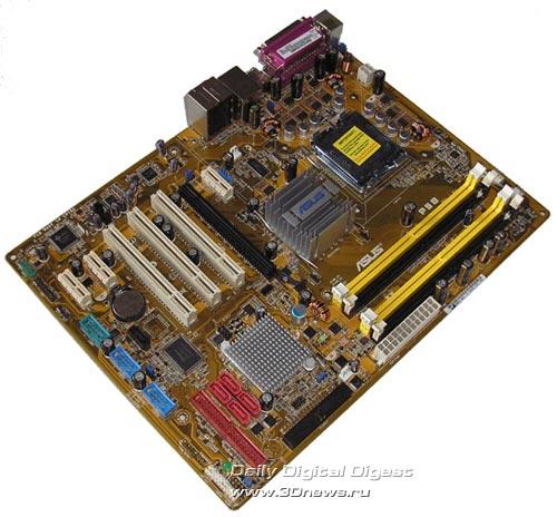 ASUS P5B на Intel P965 Express