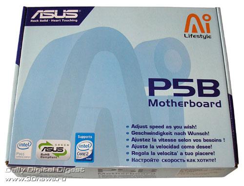 Упаковка ASUS P5B