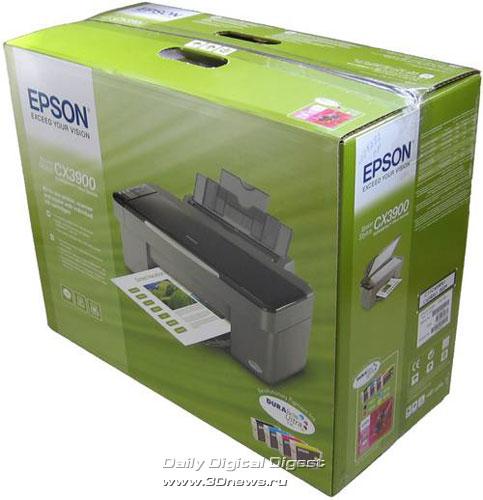 Упаковка Epson CX3900