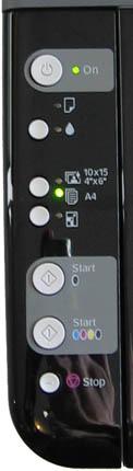 Клавиши управления Epson CX3900