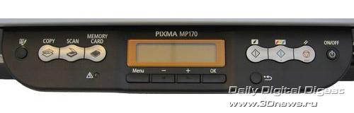 Передняя панель Canon PIXMA MP170