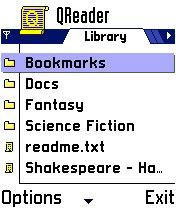 QReader, окно программы