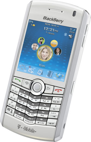 Белый BlackBerry Pearl