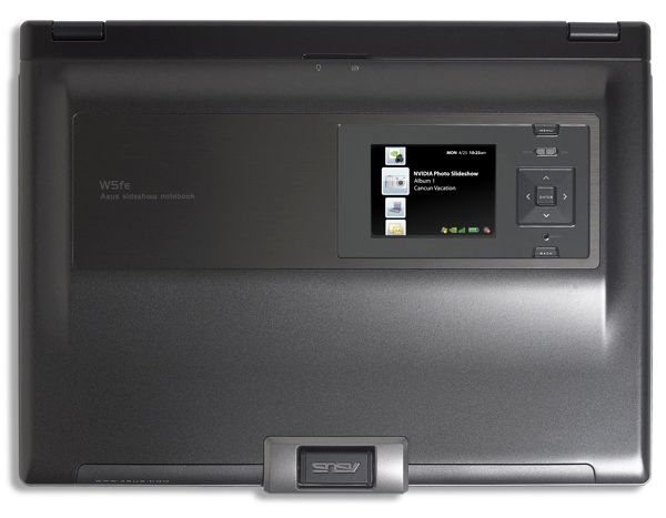 ASUS W5Fe with NVIDIA Preface Personal Media Display