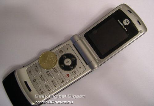 Внешний вид Motorola W375