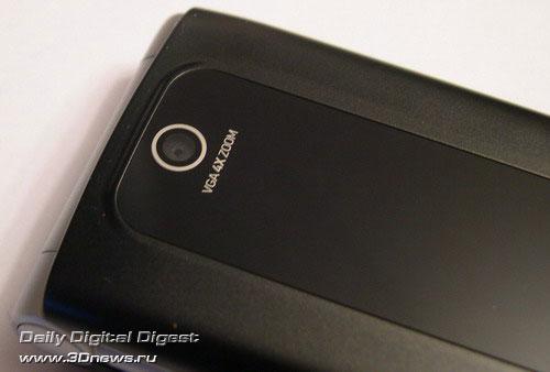 объектив встроенной VGA камеры Motorola W375