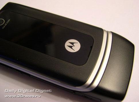 передняя панель Motorola W375