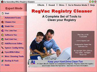 regvac-registry-cleaner