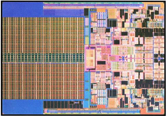 Photo of 45-nm CPU Intel Penryn