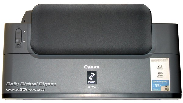 Canon PIXMA IP1700, вид сверху