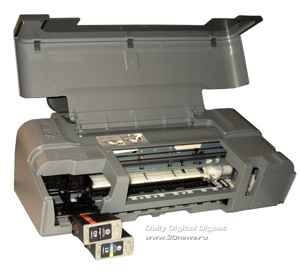 Canon PIXMA IP1700, установка картриджей