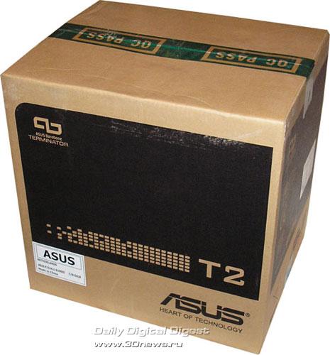 ASUS Terminator 2 картонная коробка