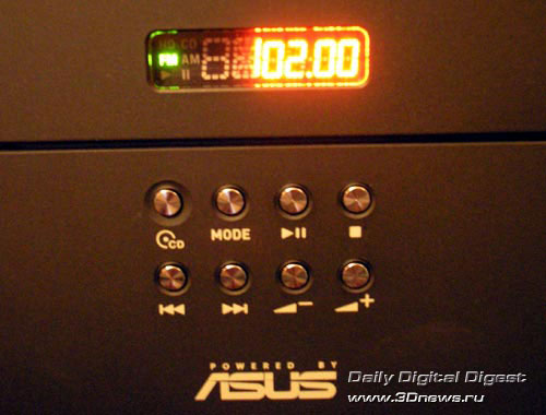 ASUS T2-PH1 кнопки на лицевой панели корпуса