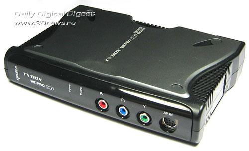 Подключение внешнего тв тюнера kworld tvbox к компьютеру схема.