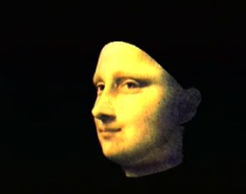 Мона Лиза в 3D