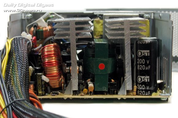 Внутренняя конструкция GP-PS450AP