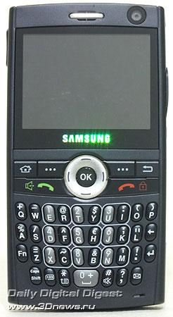 Samsung i600 Ultra. Вид спереди
