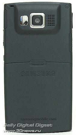 Samsung i600 Ultra. Вид сзади