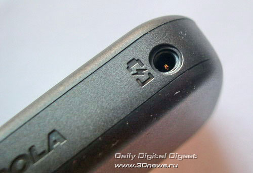 гнездо для зарядного устройства Motorola W 205