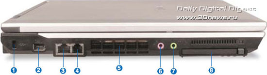 Левая сторона Samsung R55