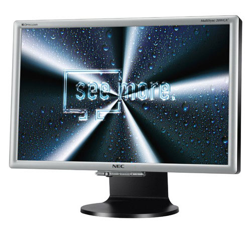 NEC MultiSync LCD20WGX2