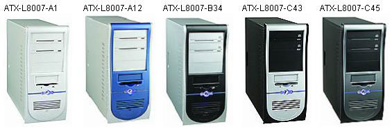 COLORSit ATX-L8007 пять цветовых решений