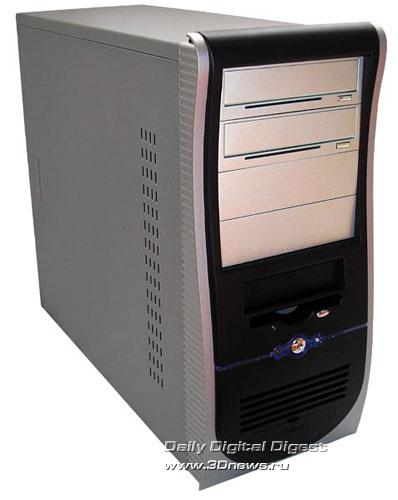 COLORSit ATX-L8007-В34 в серебряно-черном исполнении