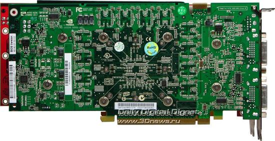 Radeon HD2900XT по сравнению с 8800GTS