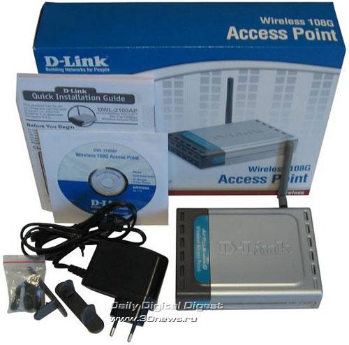 D-link DWL-2100AP
